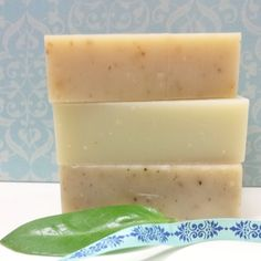 NEW! Hand-cut Soap Set- Special OpenSky SALE! Lemongrass, Mountain Pine & Berries and Honey & Oats Organic Soaps- Get all 3 for $9.99!