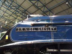 Sir Nigel Gresley A4 class engine at York