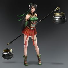 Guan Yinping & Weapon (Shu Forces)
