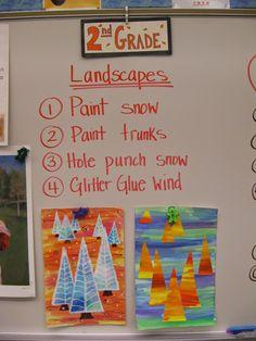 48 Super ideas winter art ideas for preschoolers grades Elementary Art Rooms, Art Lessons Elementary, Art Lessons For Kids, Art For Kids, Jamestown Elementary, 2nd Grade Art, Grade 2, Second Grade, Winter Art Projects
