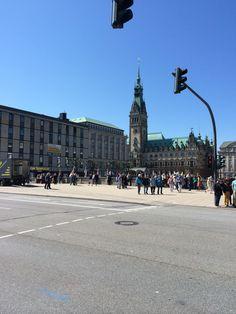 Hamburg Rathaus - Hamburg Town Hall