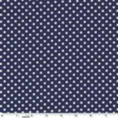 For Lucas' quilt - Sarah Jane - Children at Play - Dot to Dot in Navy