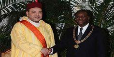 الملك محمد السادس يقوم بزيارة عمل وصداقة للكوت ديفوار