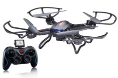 Holy Stone F181 RC Quadcopter Drone with HD Camera RTF 4 Channel 2.4GHz 6-Gyro Headless System, Black. https://www.amazon.com/Holy-Stone-F181-Quadcopter-Headless/dp/B00SAUAP5C/ref=as_sl_pc_ss_til?tag=ruslan03-20&linkCode=w01&linkId=5N4LI3CKJU3LCYL3&creativeASIN=B00SAUAP5C