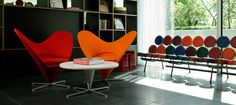 Vitra Design. CITIZEN M HOTELS AMSTERDAM