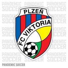 FC Viktoria Plzen Czech Republic Vinyl Sticker Decal Adhesive Vinyl, Czech Republic, Decals, Stickers, Soccer, Color Print, Cryptocurrency, Sport, Products