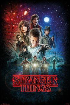 Stranger Things Season 1 Maxi Poster