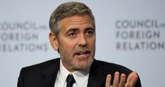 Clooney stands up for persecuted Christians NOTE Really ??? Is about time someone in the public or government did.