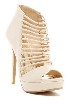 Elegant Footwear Muriel High Sandal