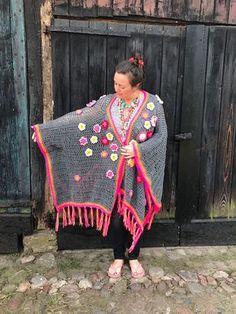 tutorial patroon gehaakte kimono polleviekimono crochet kimono
