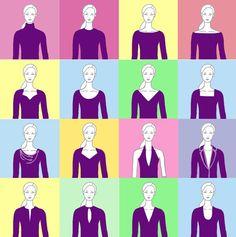 figur-tipp-ausschnitt, gefunden auf blog.modeflüsterin / In Ihrer persönlichen Beratung schauen wir genau, welche Ausschnittform perfekt zu Ihnen passt. www.farbundstil.info. Ich freue mich auf Sie.
