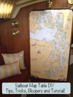 This is a cool craft project to try! Regional Map Encased in Bar Top Epoxy. | Impatiently Crafty