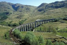 steam train / west highland line, Glenfinnan, Highland, Scotland.