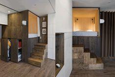 Фотография:  в стиле , Малогабаритная квартира, Квартира, Студия, Проект недели, до 40 метров – фото на InMyRoom.ru