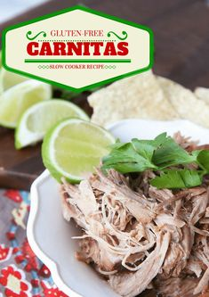 This is a perfect easy weeknight meal for the busy holiday season! Gluten-Free Slow Cooker Carnitas This is a perfect easy weeknight meal for the busy holiday season! Gluten Free Beer, Gluten Free Recipes, Healthy Recipes, Yummy Recipes, Primal Recipes, Healthy Treats, Healthy Food, Healthy Eating, Slow Cooker Recipes
