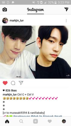 I'm really ship them sm ♡♡♡  MARKJIIIIINNNNNN