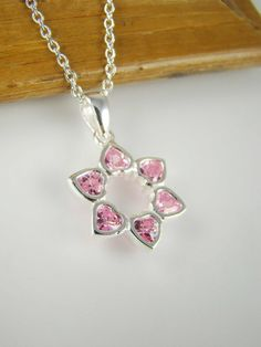 Girl Star of David Necklace Jewish Jewelry for Girls by ShinyLittleBlessings, $24.00