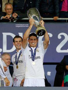 El colombiano James Rodríguez hizo su triunfal debut oficial: tiene con que pero tiene que ganarse el hala Madrid.
