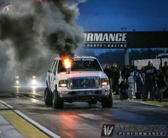 Warren Diesel throwing out the fireball at the 2017 Ultimate Callout Challenge Diesel Performance, Performance Parts, Rolling Coal, Diesel Cars, Challenges, Racing, Trucks, Big, World
