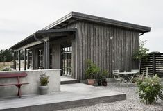 Marvelous decorating a garden summer house only on this page Architecture Durable, Tin House, Barn Renovation, Small Cottages, Weekend House, Shed Homes, Toscana, Villas, Exterior Design