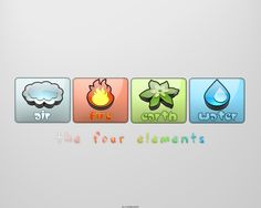 The four elements by djtkd.deviantart.com on @DeviantArt