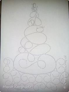 И вот она нарядная....... ))))))))))))) Попробую описать создание такой ёлочки.... фото 8