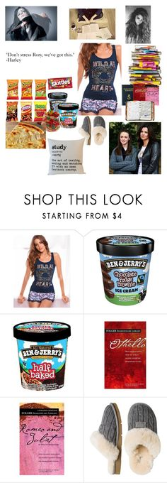 """""""Harley Gilmore: Anything But Ordinary: Chapter 4: The Deer Hunters- Outfit #2"""" by jihasz ❤ liked on Polyvore featuring Lipsy, Post-It, Nook, UGG Australia and Peek"""