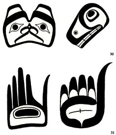haida art shapes - Google Search
