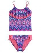Tribal Flounce Tankini Swimsuit