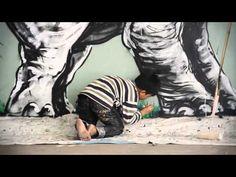 The SK8room presents Roa, a trip to Cambodia www.thesk8room.com #streetart #sk8 #skateboard #skateboards #skatedecks #roa #streetartist #cambodia #skateistan