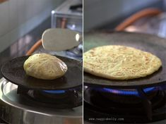 Paneer Paratha Recipe - step by step Easy Indian Recipes, Dinner Recipes Easy Quick, Veggie Recipes, Vegetarian Recipes, Cooking Recipes, Veggie Meals, Paneer Dishes, Roti Recipe, Bread Appetizers