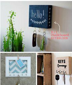 pinterest ↠ Thania835 ♕ Home Decor Furniture, Diy Home Decor, Diy Chalkboard, Diy Wood Projects, Decoration, Diy Art, Diy Gifts, Diy And Crafts, Wall Decor