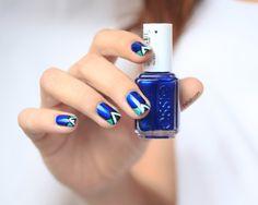 Zara Shoes nail art Inspiration