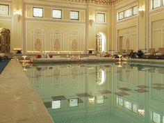 Rambagh Palace, Jaipur, India - indoor swimming pool