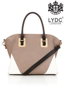 LYDC Contrast Tote Bag