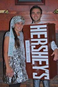 Chocolate couple Halloween costume