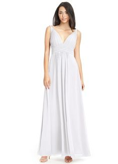 4f369bb306 AZAZIE MAREN. Maren is our floor-length bridesmaid dress in an A-line