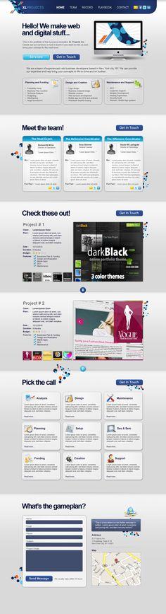 #XLProjects  #WebsiteDesigns