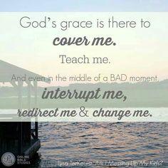 God's Grace is Sufficient!