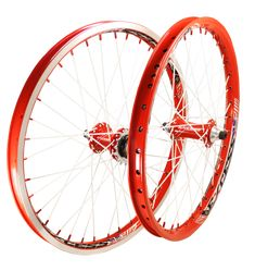We like the Excess BMX 351 complete wheel set! The 351 Rims were made custom by Sun Rims Exclusively for Excess. The wheels come in 5 different colorways