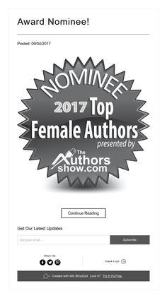 Award Nominee!