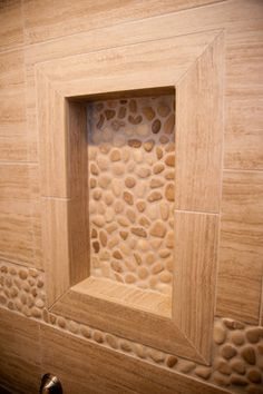 Seta Porcelain & Pebble Series with Design Build Pros of NJ modern bathroom tile