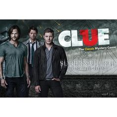 Supernatural Collector's Edition Clue Game