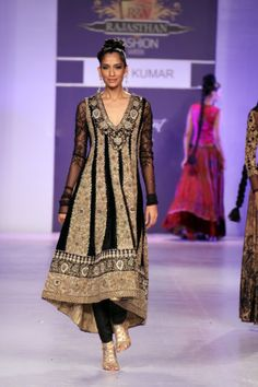 Ritu Kumar at fashion week