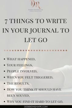 Journaling can be a powerful form of therapy and an outlet for feelings to manifest themselves. Next time you're dealing with negative emotions surrounding an event try journaling. Coaching, Vie Motivation, Fitness Motivation, Journal Writing Prompts, Good Vibe, Self Development, Personal Development, Self Improvement, Self Care