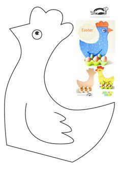 easter crafts diy / easter crafts + easter crafts for kids + easter crafts for toddlers + easter crafts to sell + easter crafts for adults + easter crafts kids + easter crafts diy + easter crafts preschool Paper Crafts For Kids, Easter Crafts, Diy For Kids, Toddler Crafts, Preschool Crafts, Easter Templates, Chicken Crafts, Egg Carton Crafts, Diy Ostern