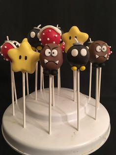 Bomb Piranha Goomba Star Toadstool Themed Gamer by CandySimply