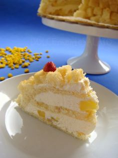 DOLCEmente SALATO: Torta mimosa di Montersino