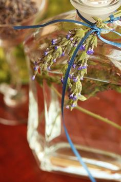 Several years ago, a friend gave me a bottle of lavender water. It came in a spritzer, and I used it to freshen napkins and pillowcases. ...