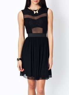 Feel and look like a princess in this stretchy, partially lined dress.